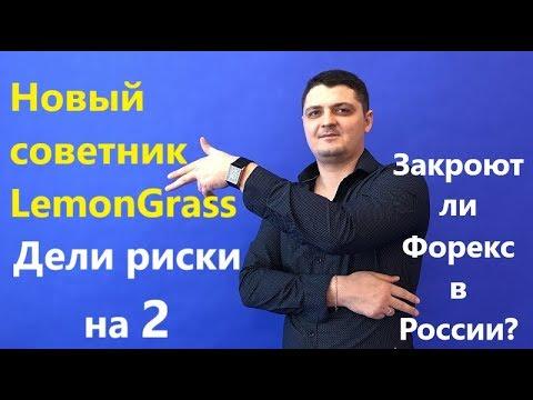 МОГУТ ли закрыть Форекс в России? Мой новый робот советник - LemonGrass