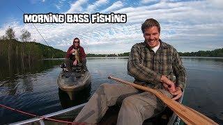 Morning Bass Fishing