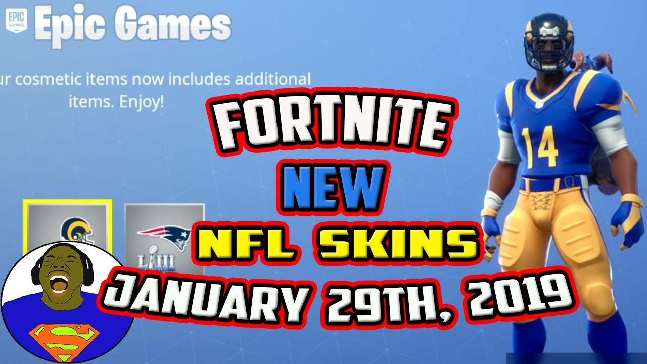 Download FORTNITE NEW NFL SUPERBOWL SKINS - NEW FORTNITE SKITS COMING SOON WITH JAYTOOICY