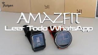 AmazFit - Leer Todos los Mensajes de Whatsapp