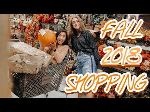 fall shopping 2018 : we did some damage..