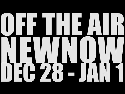 NEWNOW premieres Mon 12/28 | Off the Air | Adult Swim
