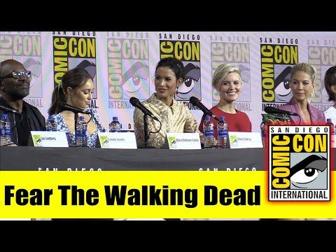 FEAR THE WALKING DEAD   Comic Con 2019 Cast Panel (Lennie James, Alycia Debnam-Carey, Maggie Grace)