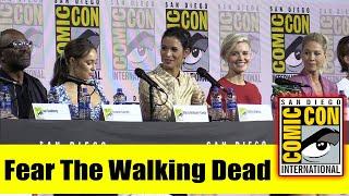 FEAR THE WALKING DEAD | Comic Con 2019 Cast Panel (Lennie James, Alycia Debnam-Carey, Maggie Grace)