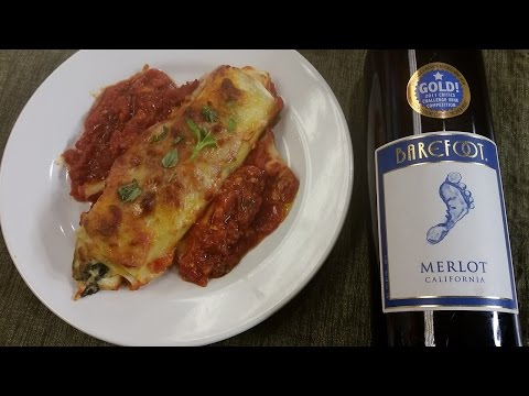In the Kitchen: Chicken & Spinach Cannelloni