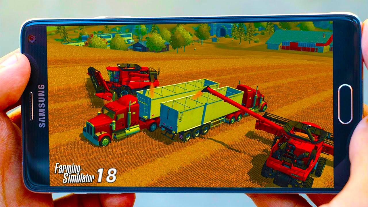 Скачать фермер симулятор 2018 з модами