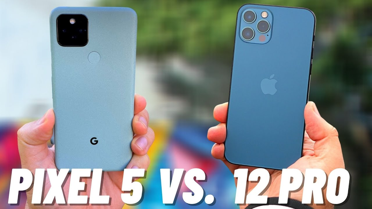 Iphone 12 Vs Google Pixel 5 Camera Test Comparison Youtube