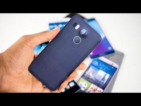 2015 Google Nexus 5X: Size Comparison To Other Smartphones