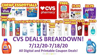 CVS Deals Breakdown 7/12/20-7/18/20! All Digital and Printable Coupon Deals! Check pinned comment!