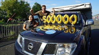 500K SUBSCRIBERS CELEBRATION!  | Travel and Share | Romulo e Mirella