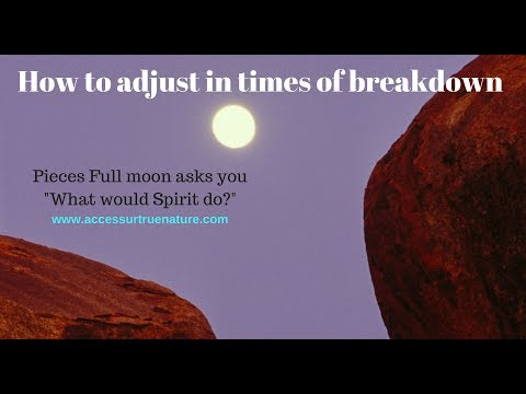 How to make adjustments in times of breakdown