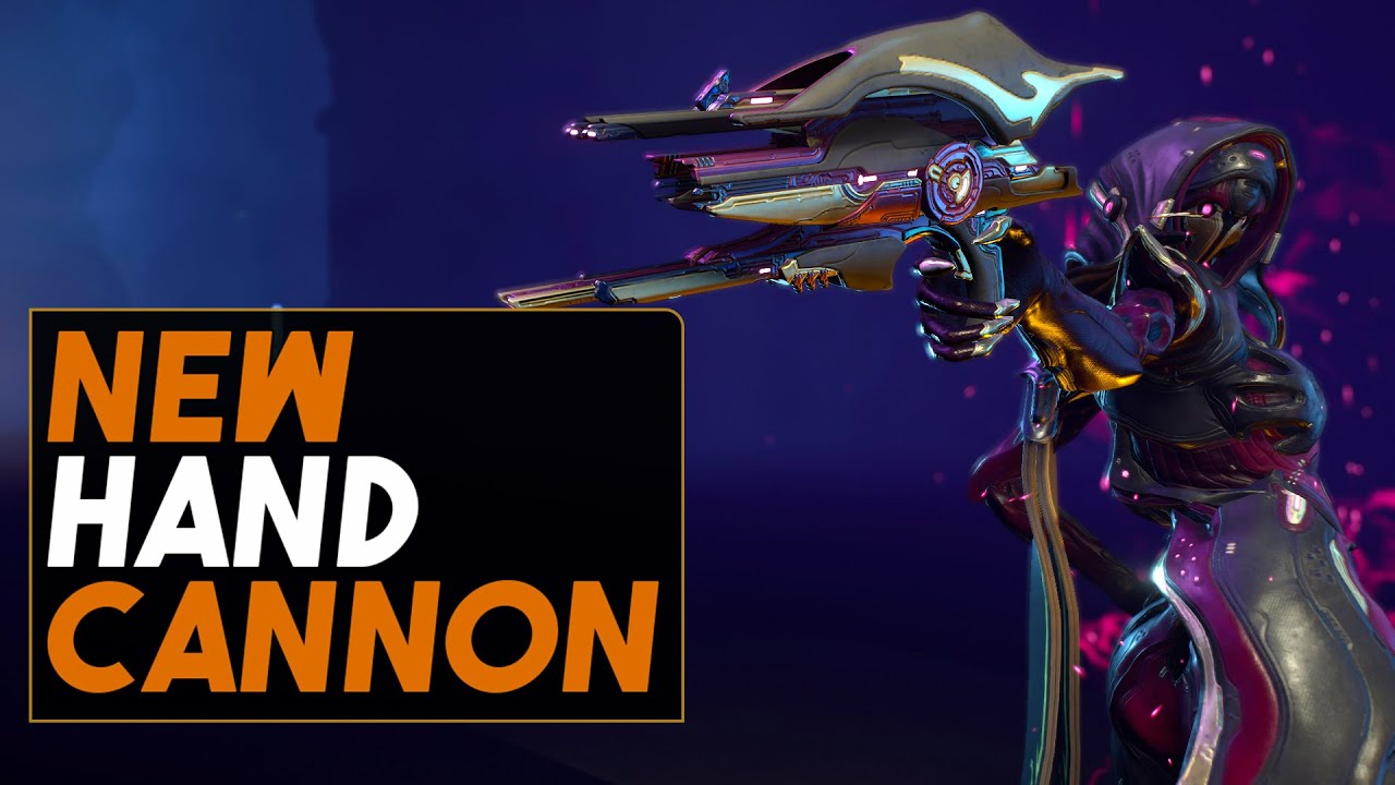 Warframes Take On A Hand Cannon - The Full Auto Athodai