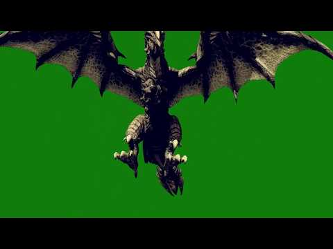 Naga Dragon Green Screen Jurassic World