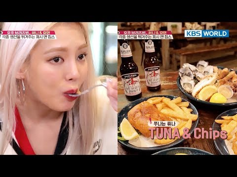 Clssy Fish & Chips In Australia! 'Sunny, You Said You Can't Eat Fish…?'[Battle Trip/2017.10.22]