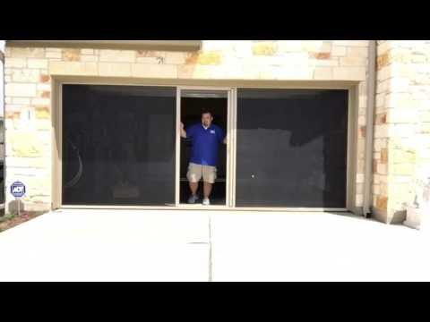 lifestyle garage screen by breezy garage screens
