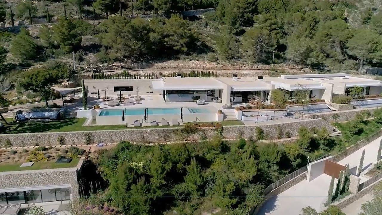 Newly built modern luxury villa near Ibiza town - Luxury Villas Ibiza