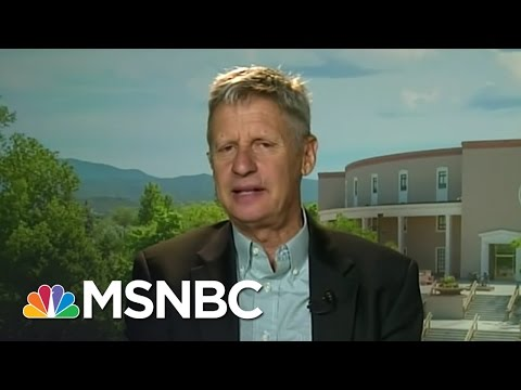 Libertarian Candidate Gary Johnson Getting More Attention | MSNBC