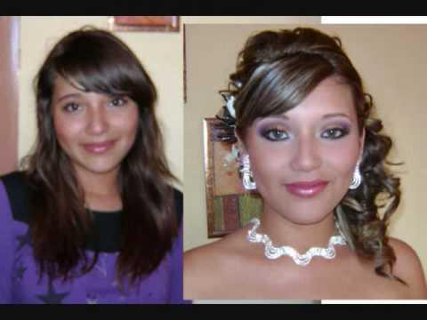 Thalia cervantes make up look design cambios de imagen for Extensiones antes y despues