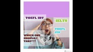 DAFTAR BEASISWA pakai TOEFL ITP, IBT, atau IELTS???
