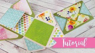 Envelope mini Album - DIY Tutorial