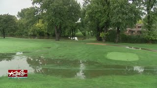 Squeegees, Helicopter To Help Dry Off Minnehaha Country Club