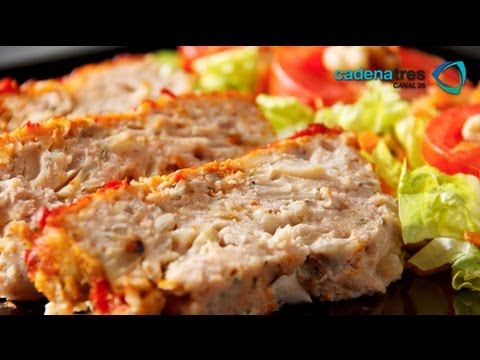 Receta de como preparar pastel de carne de pavo con for Como cocinar solomillo de pavo