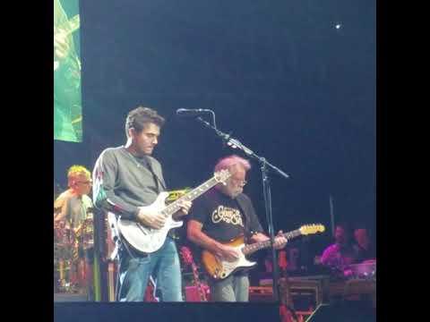 Dead and Company John Mayer guitar riff 17 seconds Charlotte North Carolina November 2017