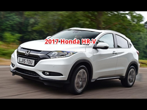 Honda Hrv 2017 Review Interior Test Drive