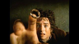 Фродо впервые надевает кольцо. Знакомство  с Арагорном. Властелин колец: Братство Кольца 2001