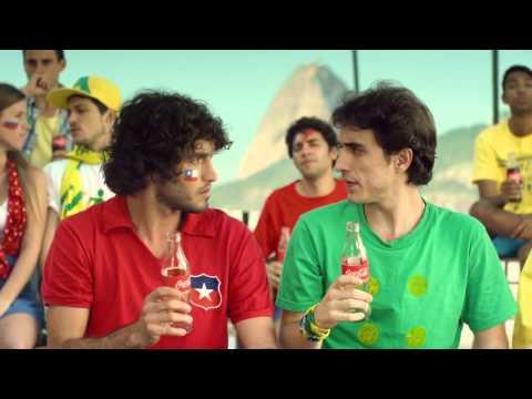 Comercial Coca Cola - Brasil x Chile - Copa do Mundo 2014