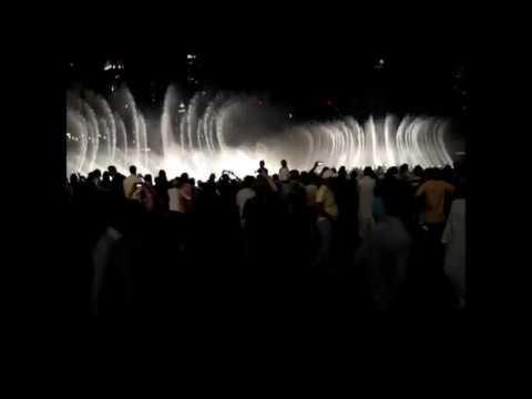 Dubai Mall Fountain Show 2013