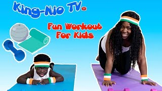 Work Out For Kids // Games For Kids // Activities For Toddlers