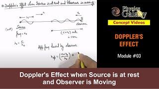 3. Physics | Dopler
