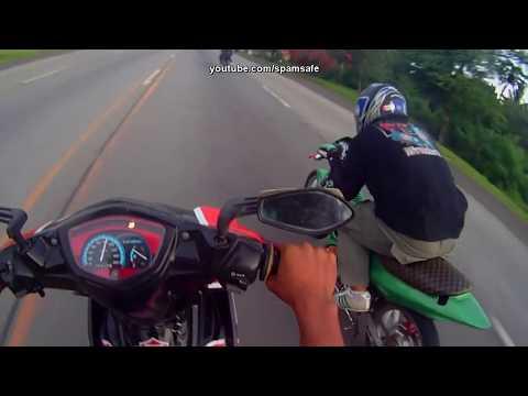 CNR Suzuki Raider 180cc vs  Yamaha Sniper 160cc drag racing