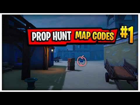 PROP HUNT MAP CODES IN FORTNITE