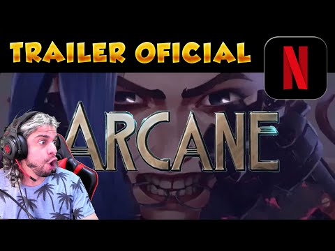 😲¡JUPESON REACCIONA al ANIME de LOL en Netflix! | League Of Legends Arcane Official Trailer 2021