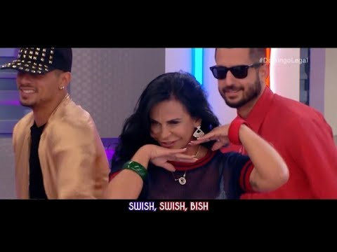 Katy Perry - Swish Swish ft. Nicki Minaj (Live Performance Starring Gretchen) [HD] | YAW Channel
