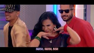 Katy Perry - Swish Swish ft. Nicki Minaj (Live Performance Starring Gretchen) [HD]   YAW Channel