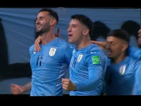 Gastón Pereiro ⚽️ | Uruguay 1 - Ecuador 0 | Eliminatorias Qatar 2022 | 9-9-2021
