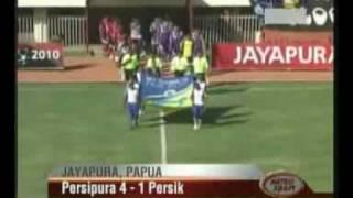 Persipura Jayapura vs Persik Kediri 4 1 Piala Indonesia 2010