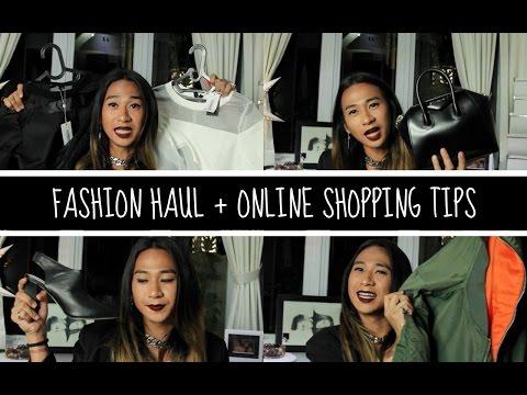 FASHION HAUL + ONLINE SHOPPING TIPS || Jovi Hunter