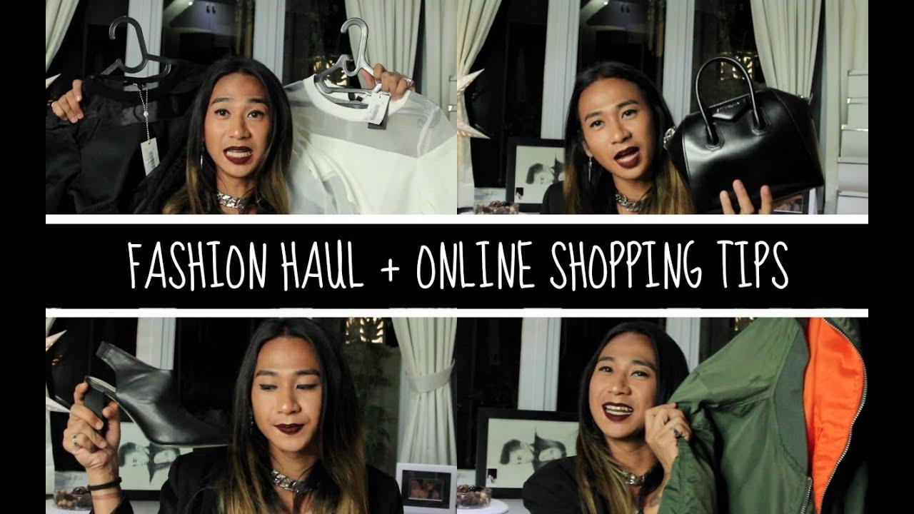 fashion haul online shopping tips jovi hunter youtube. Black Bedroom Furniture Sets. Home Design Ideas