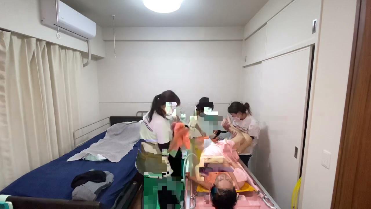 【訪問入浴】脊髄損傷の障害者の入浴方法