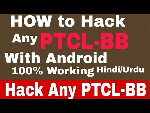 How to hack any wifi PTCL-BB with android in Urdu/Hindi BY TECHNICAL MASTER