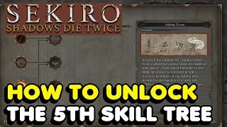 Sekiro - How To Unlock The Mushin Arts Skill Tree (5th Skill Tree) In Sekiro: Shadows Die Twice