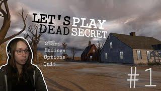 [ Dead Secret ] Murder Mystery Indie Horror Game - Part 1