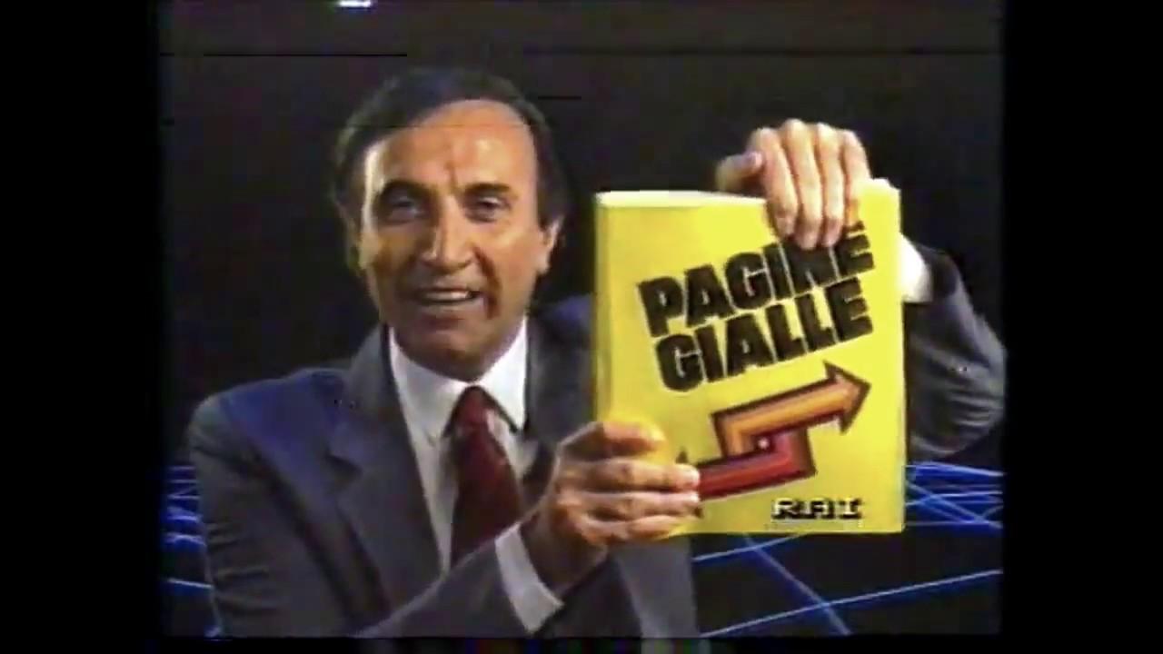 Pagine Gialle con Pippo Baudo 1985 Un grande volume d ...