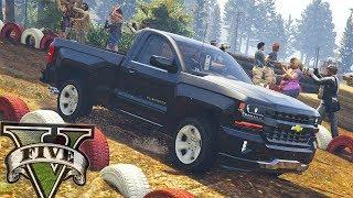 Rally insano de Chevrolet silverado - GTA V MODS