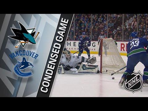 03/17/18 Condensed Game: Sharks @ Canucks