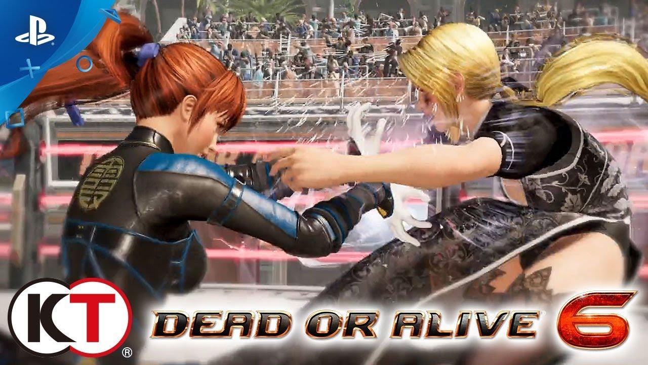 Dead or Alive 6 - E3 2018 Announcement Trailer | PS4